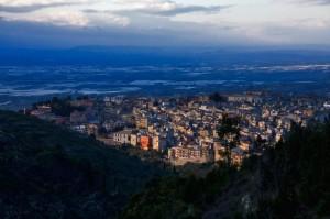 Ultime luci su Chiaramonte
