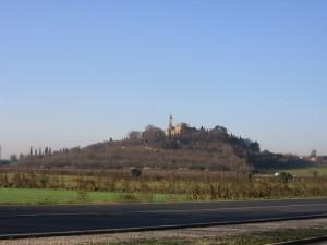 Paesaggio invernale intorno a San Giacomo