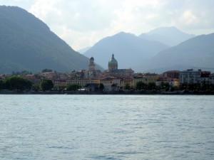 Verbania, vista dal Lago Maggiore
