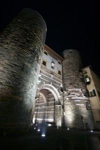 Porta San Gervasio by night