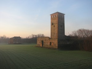 Torre Marchionale all'alba