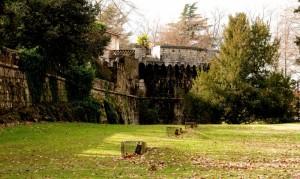 parte esterna della fortificazione di Gradisca