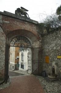 uscita dal castello di Udine
