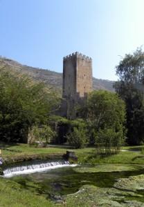 La torre e il giardino