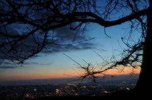 grottaferrata ed il suo tramonto