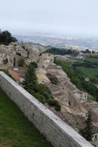 Civitella del Tronto: panorama dalla fortezza