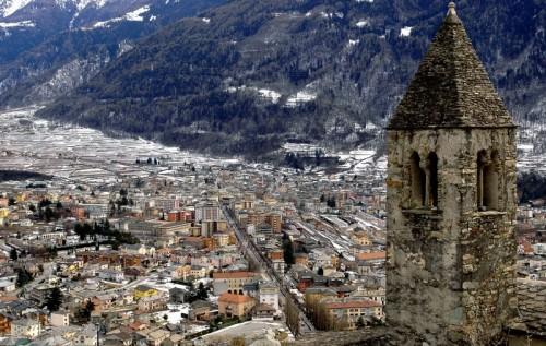 Tirano - Panorama di Tirano da Santa Perpetua