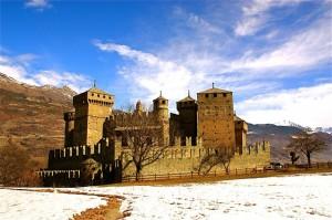 il meraviglioso castello di fenis