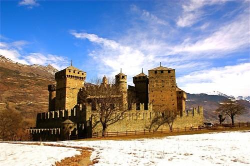 Fénis - il meraviglioso castello di fenis