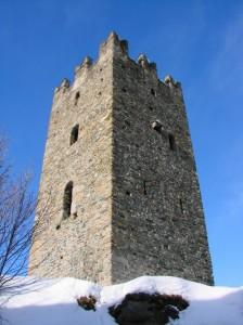 La Torre con la neve