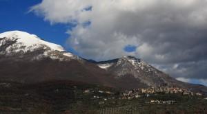 Vico nel Lazio sotto i monti Ernici….