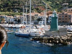 Isola del Giglio: ultimo sguardo al porto