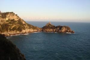 La pittoresca baia di Conca dei Marini