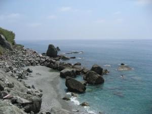 Bonassola, la spiaggia de LaFrancesca al pomeriggio