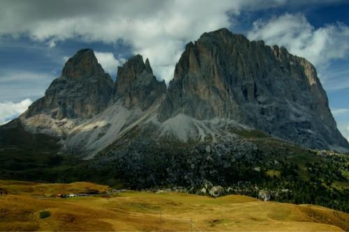 Selva di Val Gardena - Le cime del Sassolungo dal Passo Sella