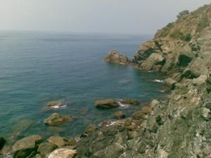 Bonassola, La Francesca, verso la Punta Del Carlino