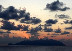 Marettimo e il tramonto
