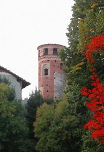 La torre del castello di Strambino