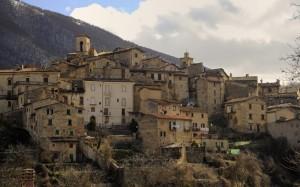 Un'incantevole paese d'Abruzzo