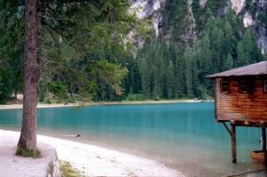Panorama con porticciolo sul Lago