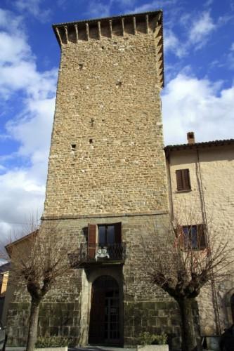 Scheggia e Pascelupo - La Torre civica