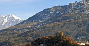Chatillon - Castello di Ussel
