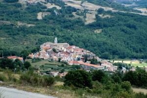 dall'alto vedo Civita