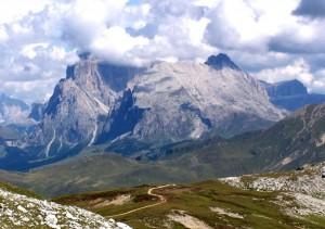 Sopra l'Alpe di Siusi