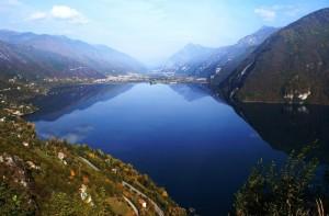 Il Lago di Idro  Visto dalla Torre Napoleonica