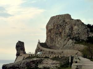 Panoramica della Montagna Spaccata
