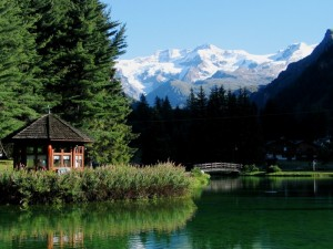 Uno sguardo sul Monte Rosa da Gressoney-Saint-Jean