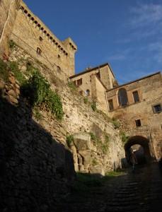Bolsena, vista del castello
