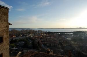 Bolsena, vista dal castello