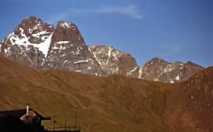 Il rifugio degli Alpini e il RE (con DEDICA)
