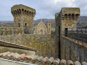 Vista sui tetti del vecchio paese