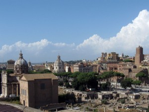 Panorama dal Foro Romano 1