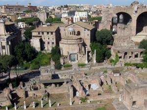 Panorama dal Foro Romano 2
