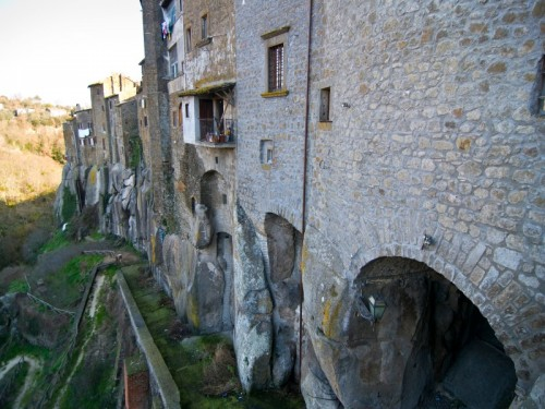 Vitorchiano - Le case sulle rocce