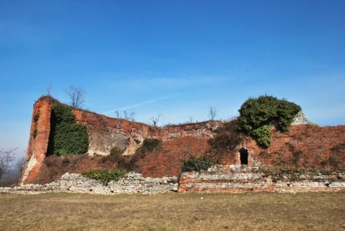 Caluso - Resti del vecchio castello