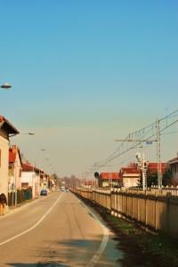 Costeggiando la ferrovia
