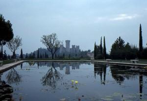 Il Castello degli Scaligeri dal Giardino Sigurtà