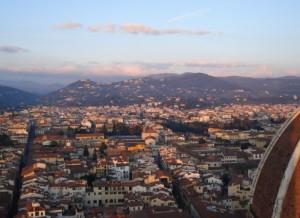 Il Cupolone al Tramonto per salutare i Maledetti Toscani