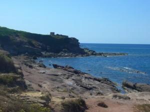 Panoramica di Porto Ferro