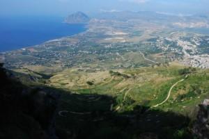 Con il Monte Cofano sullo sfondo