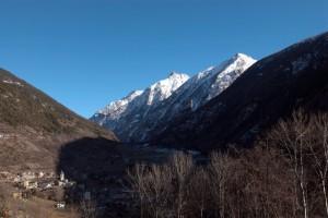 Panorama su Valpelline e la sua valle