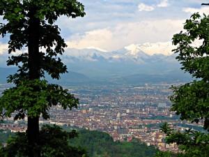 Torino, vista da Superga