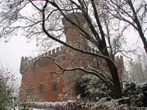 Castello del Valentino in veste invernale