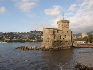 il castello di Rapallo