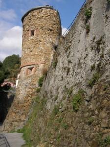 la torre del castello di Riomaggiore