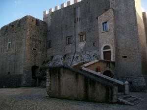 l'entrata del Castello Baronale